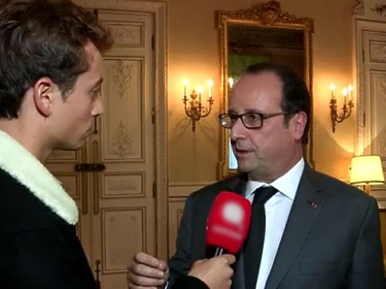 В скандальном интервью президент Франции заявил: если отвергнуть возможность диалога, остается только воевать — но не хотелось бы