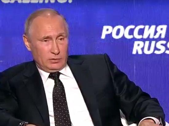 Путин охарактеризовал роль России в конфликте на Донбассе