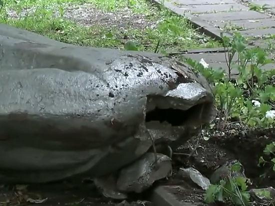 Памятнику Ленину с улицы Климашкина приделают новую голову взамен украденной