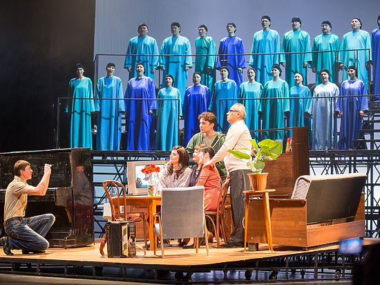 Спектакль Башкирской Оперы «Геракл» на необычном фестивале