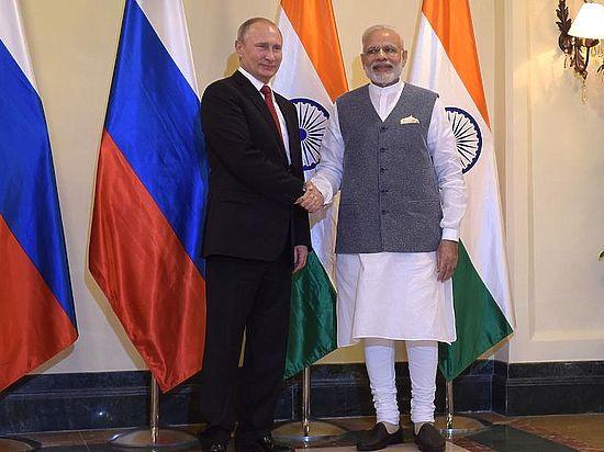 Владимир Путин и Нарендра Моди подписали ряд контрактов и соглашений