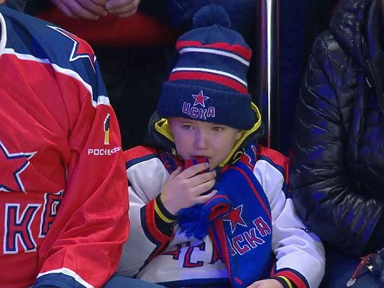 Хоккейный ЦСКА продолжает поиски преданного болельщика