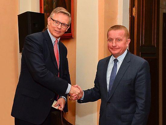 Градоначальник донской столицы Сергей Горбань встретился с представителями ведущих шведских компаний