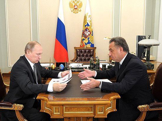 Путин одобрил назначение Мутко вице-премьером по спорту