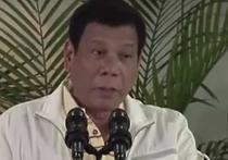 """Президент Филиппин """"распрощался"""" с США и снова обматерил Обаму"""