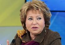Матвиенко: Крым вернулся в Россию из-за кораблей НАТО около Севастополя