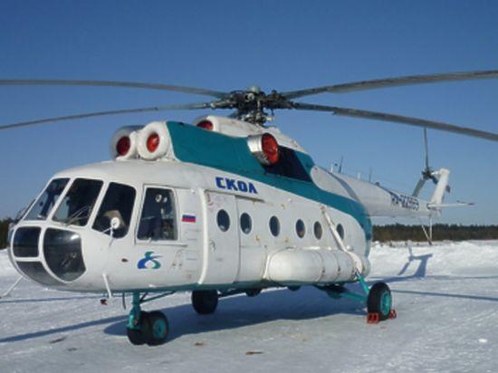 Обнародовано видео с места крушения Ми-8 на Ямале