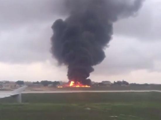 Крушение самолета на Мальте попало на видео: погибли пять французов