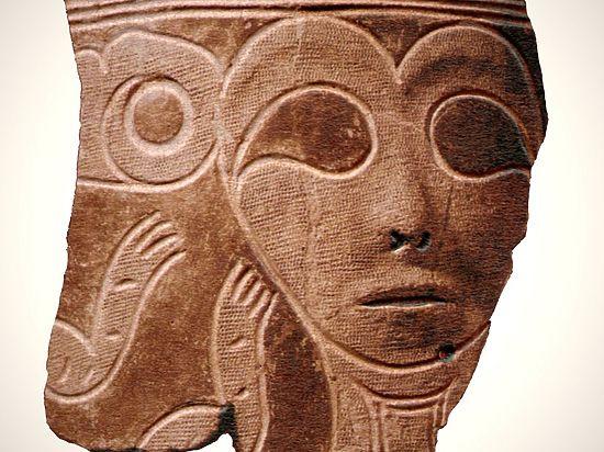 Археологи обнаружили погремушки в виде головы