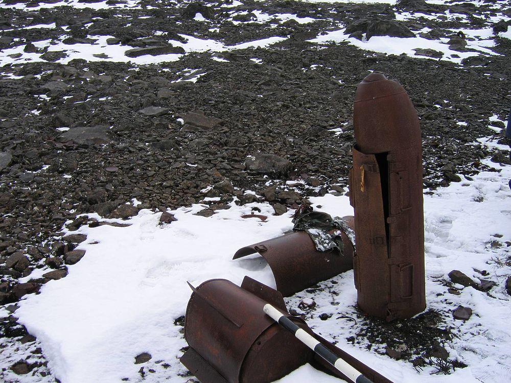 Секретную базу нацистов в Арктике запечатлели на фото