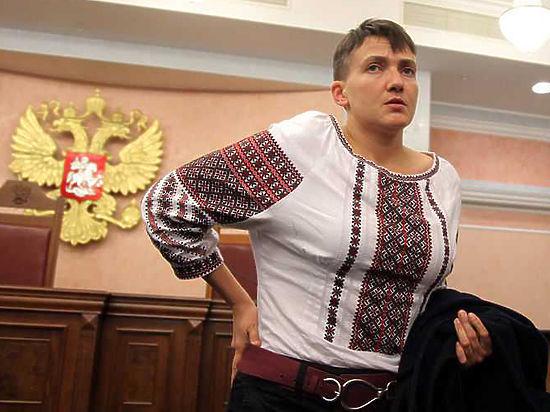 Савченко удалось прорваться в Москву со второй попытки после задержания