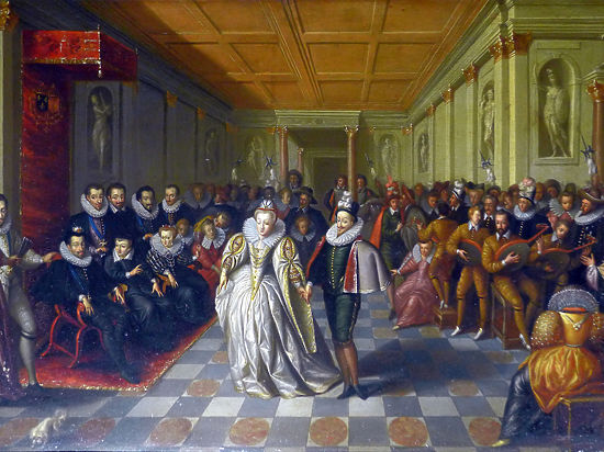 435лет назад во Франции был показан первый балетный спектакль