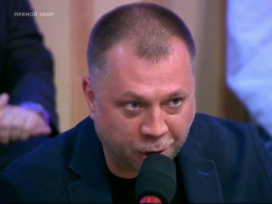 Избившим украинского политолога на «Первом канале» оказался создатель ДНР Бородай