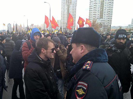 Участникам «Русского марша» запретили кричать про Путина