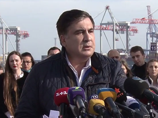 Одесситы проводили Саакашвили шашлыками: на чем прокололся губернатор