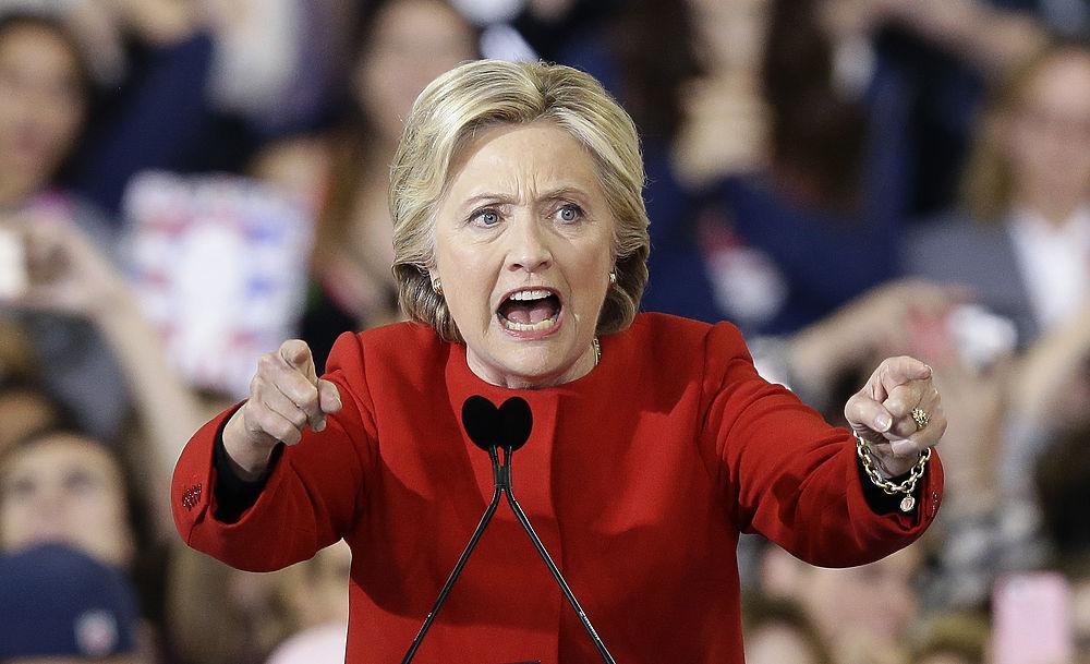 Хиллари Клинтон и выборы президента США: яркие эмоции кандидата