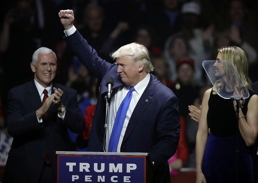 Неожиданные образы и красавицы-жены Дональда Трампа