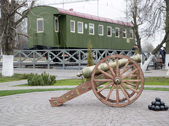Щекинская железнодорожная станция стала еще и музеем
