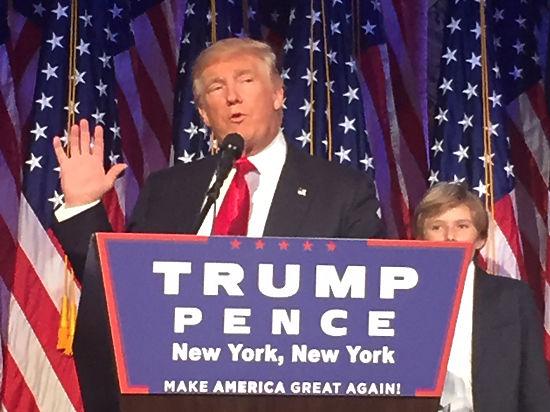 Победивший Трамп пообещал США перестройку