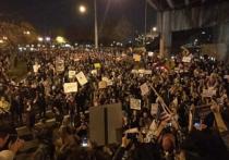 В Портленде протесты против Трампа вылились в массовые беспорядки