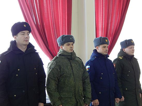 В Вологде торжественно отправили призывников в ряды Вооруженных сил