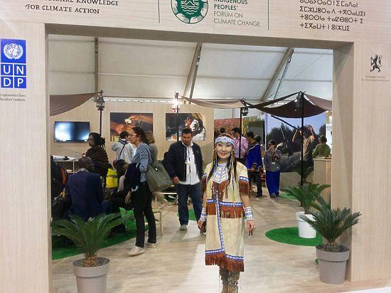 Саина выступила в Марракеше на конференции ООН