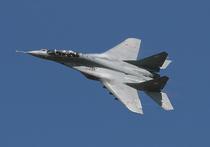 """Минобороны России подтвердило, что палубный истребитель МиГ-29К упал во время захода на посадку на крейсер """"Адмирал Кузнецов"""""""