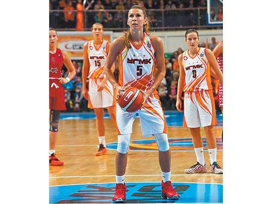 6d45cbb8 Чемпионка НБА Евгения Белякова: