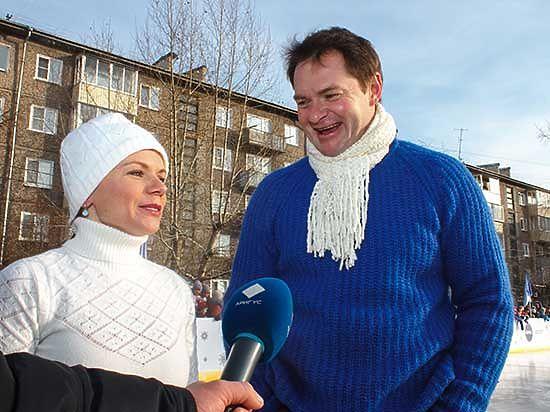 В Улан-Удэ состоялось торжественное открытие ледового катка от компании Nivea