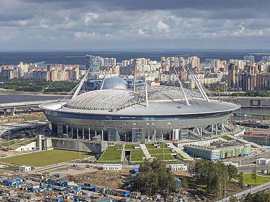 Как распилили табло на стадионе «Зенит»