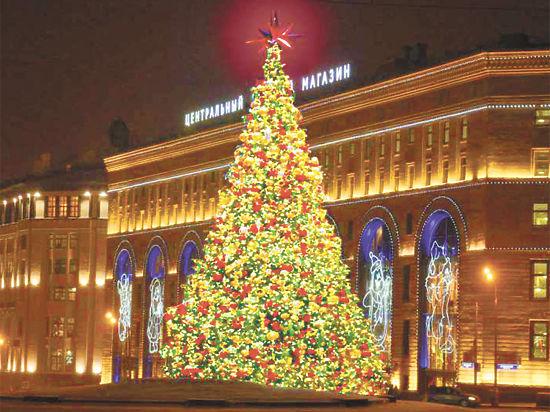 В Москве утвердили проект праздничного новогоднего оформления