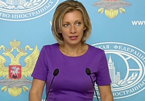 Официальный представитель МИД РФ Мария Захарова прокомментировала нападки Госдепа США на журналистку телеканала RT, задавшую неудобный вопрос о Сирии