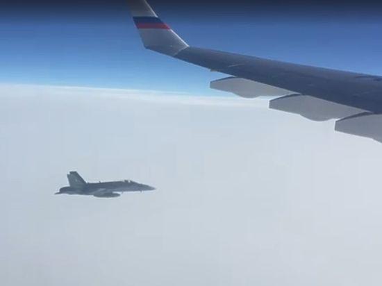 Россия потребовала  от Швейцарии разъяснений авиаинцидента с истребителями