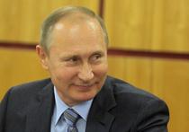 Знойную перуанку по имени Хулиа Кастро задержали полицейские, не дав ей вручить президенту России Владимиру Путину собственноручно связанный свитер - белый с национальным узором