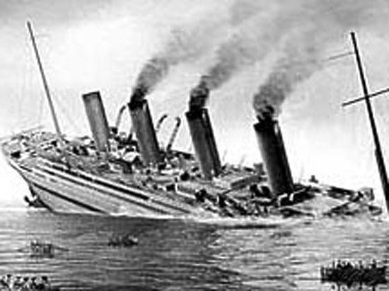 Судьбу «Титаника» несколько лет спустя повторил его «двойник»