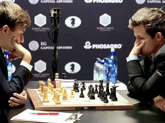 Российский гроссмейстер победил, играя черными фигурами
