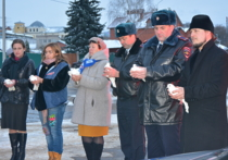Личный состав отдела ГИБДД МУ МВД России «Серпуховское» принял участие в молебне о погибших в дорожно-транспортных происшествиях 16 ноября