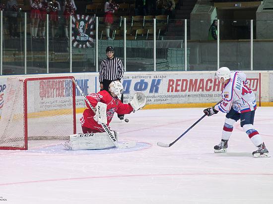 Хоккеисты «Ростова» дважды в родных стенах победили «Славутич»