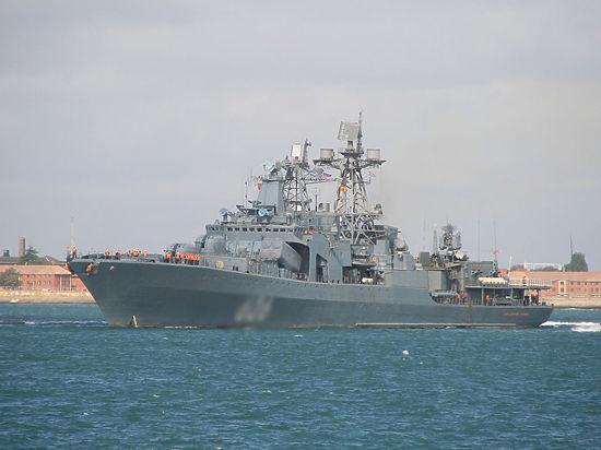 Корабль «Вице-адмирал Кулаков» спас украинских рыболовов в Средиземном море