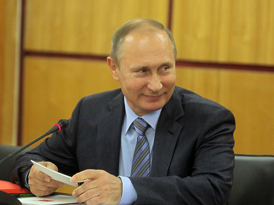 Путин рассказал юным географам, что граница России нигде не заканчивается