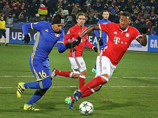 Футболисты «Ростова» одержали сенсационную и первую победу над мюнхенской «Баварией»