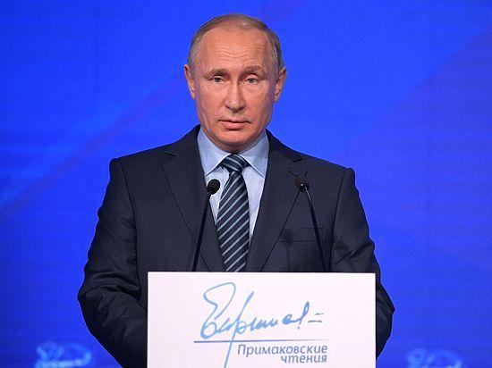 Путин сообщил о разговоре с Трампом, вспомнив заветы Примакова