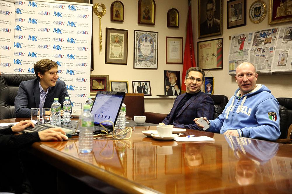 Карякин после чемпионата мира по шахматам вспомнил Остапа Бендера