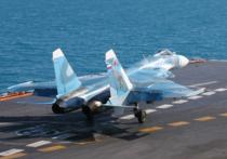 """Комиссия Минобороны России, расследующая обстоятельства аварии истребителя Су-33 с авианесущего крейсера """"Адмирал Кузнецов"""" в Средиземном море, допускает, что инцидент мог произойти из-за ошибки пилотирования, пишет вчетверг газета """"Коммерсант"""" соссылкой наисточник, близкий красследованию"""