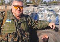 Участник АТО, в прошлом успешный адвокат из Днепропетровска, Эдмонд Саакян сфотографировался с отрубленной рукой ополченца