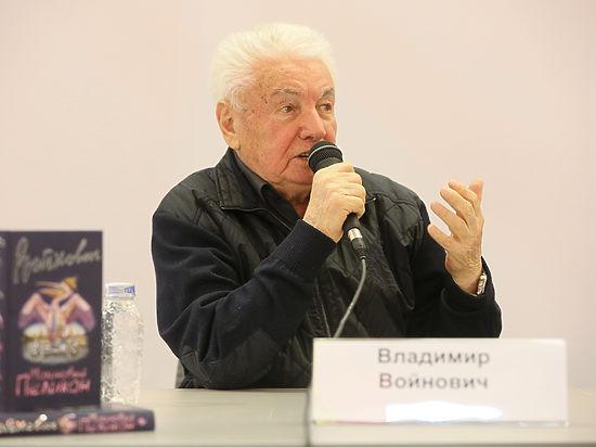 Владимир Войнович на ярмарке non/fiction