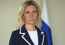 Захарова опровергла сообщения, что Лавров назвал оператора «дебилом»