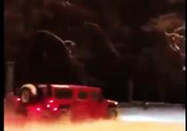 Владелец автомобиля Hummer вишневого цвета 28-летний Алексей Смагин, который 11 декабря прокатился по газонам МГУ им