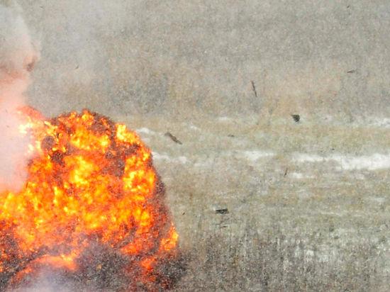В столичной промзоне по время испытаний взорвался реактивный двигатель