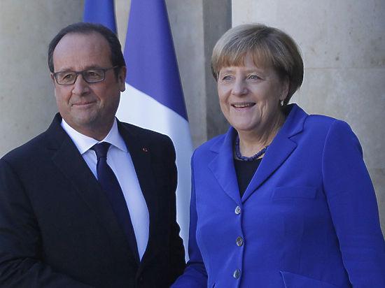Еще год антироссийских санкций: Олланд и Меркель поддержали их продление